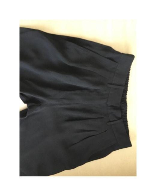 Isabel Marant Pantalon carotte viscose noir femme