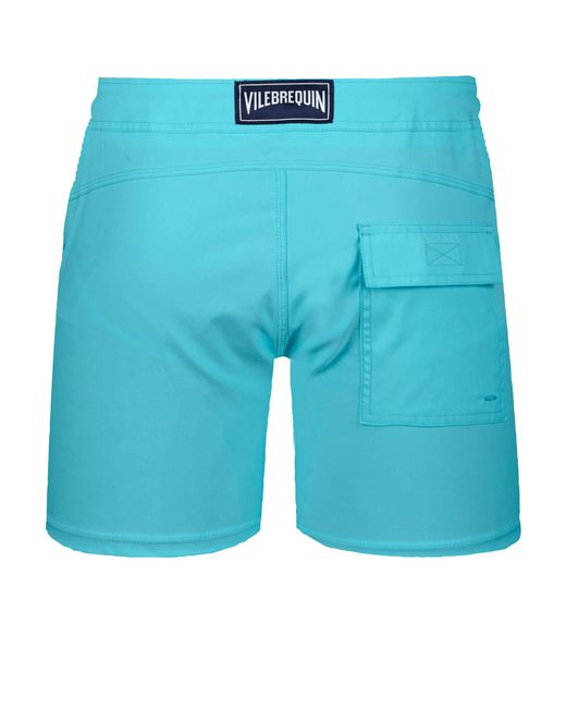 5e72a56fb0 ... Vilebrequin - Blue Men Flat Belt Stretch Swimwear Solid for Men - Lyst