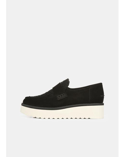 Vince Black Sherpa Zola Shoe