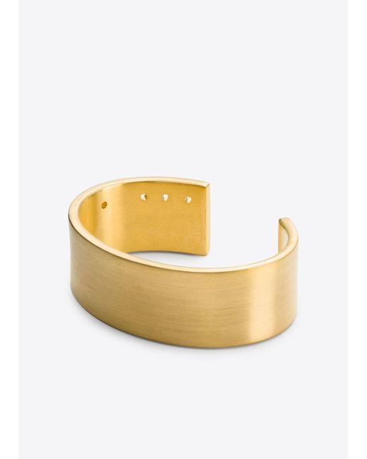 Vince   Metallic Marmol Radziner / Standard Cuff   Lyst