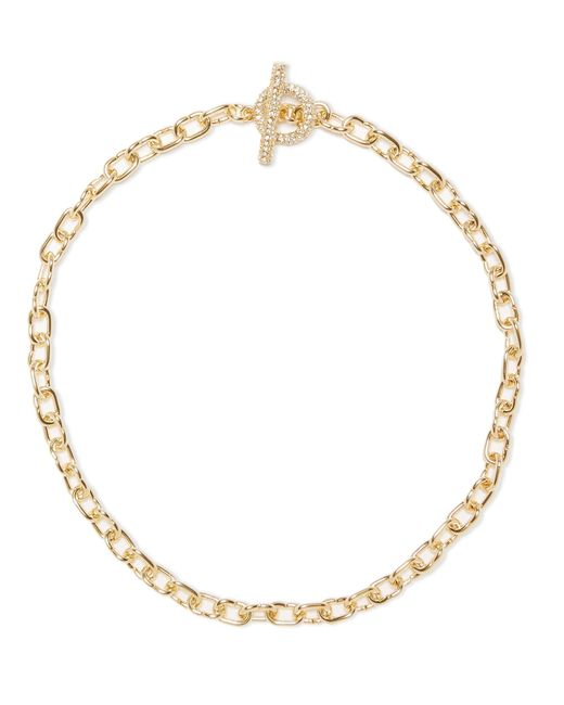 Vince Camuto - Metallic Link Toggle Necklace - Lyst