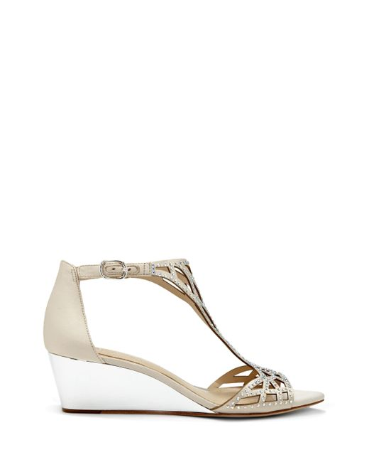Vince Camuto - Multicolor Imagine Jalen – Embellished Wedge Sandal - Lyst