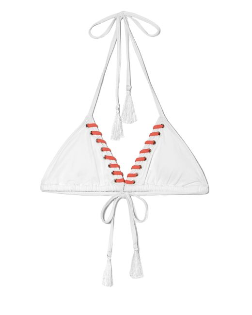 Vince Camuto | White Laced Bikini Top | Lyst