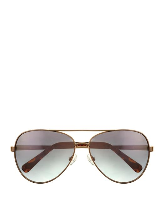 Vince Camuto | Multicolor Colored-lens Aviator Sunglasses | Lyst