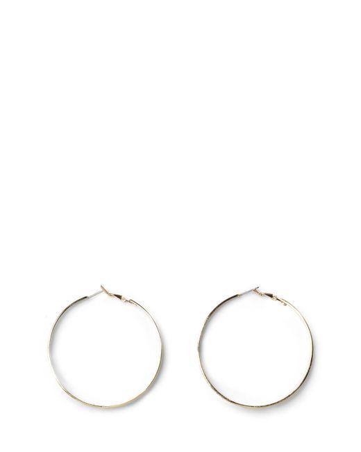 Vince Camuto - Metallic Goldtone Tapered Hoop Earrings - Lyst