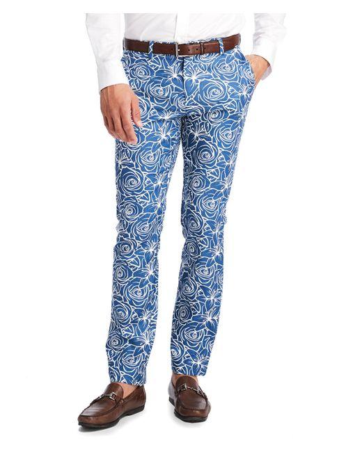 Vineyard Vines Blue Rose Line Pants for men