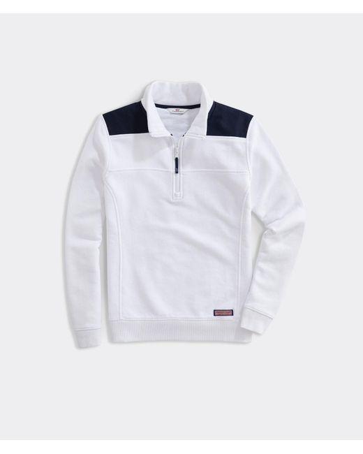 Vineyard Vines White Blankclassic Shep Shirt Pullover