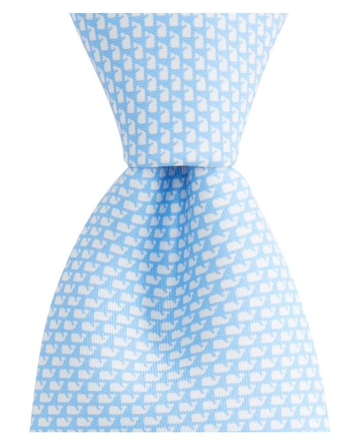 Vineyard Vines - Blue Neon Micro Whale Tie for Men - Lyst