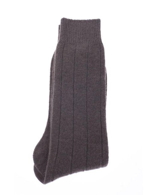 Paul Smith - Gray Wool Socks for Men - Lyst