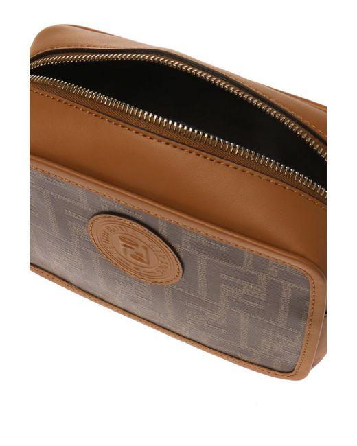 d153dcc68793 Lyst - Fendi Ff Camera Bag in Brown - Save 23%