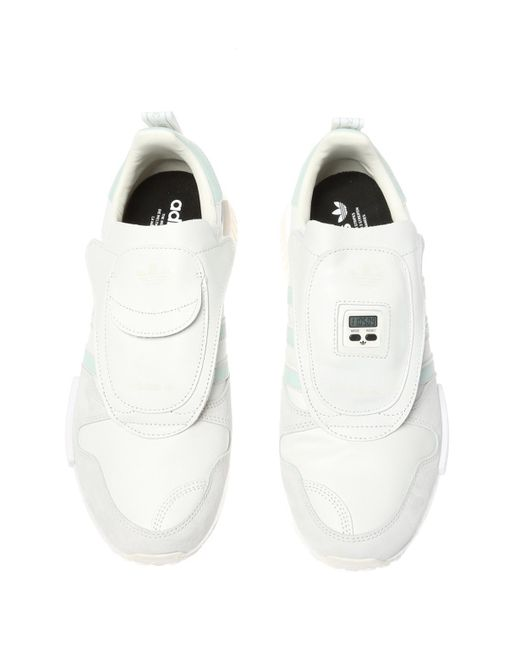 78d7978b1300 ... Lyst Adidas Originals - White  micropacer X R1  Sneakers for Men ...
