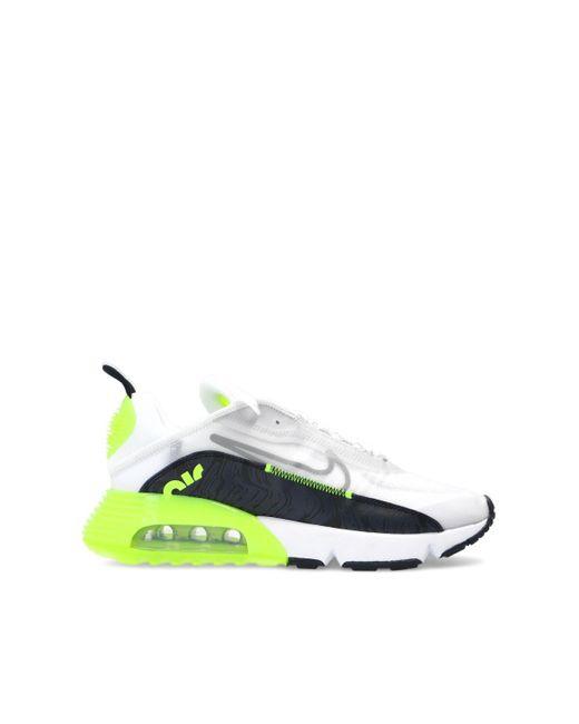 Nike Multicolor 'air Max 2090' Sneakers Neon for men