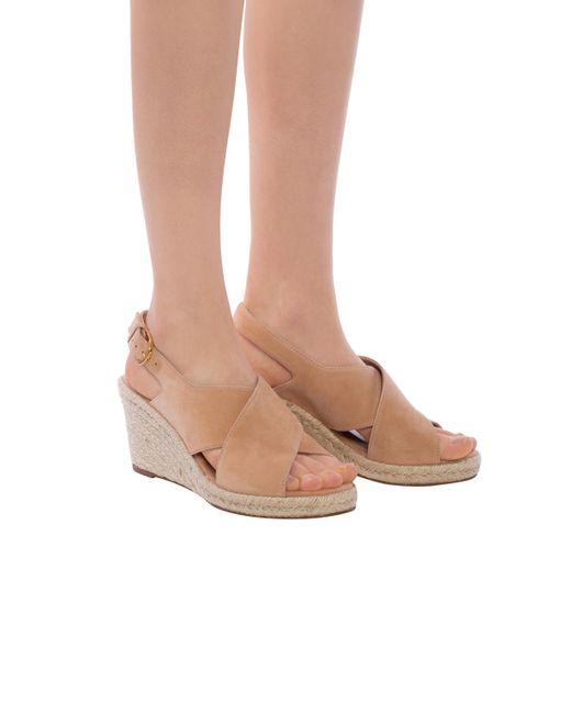 2d423cd39ef Women's Natural 'paris' Wedge Sandals