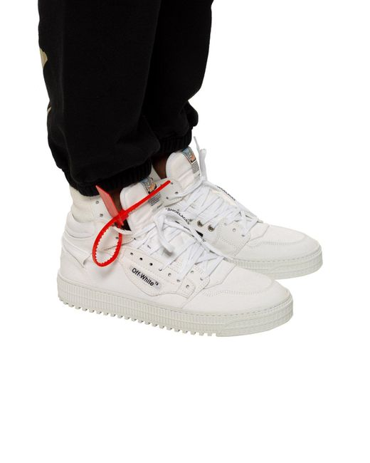o Virgil Abloh Men's Trainers With Logo