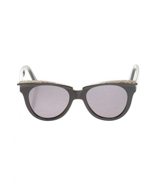 Philipp Plein Multicolor Patterned Sunglasses