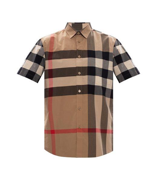 Burberry Multicolor Sumerton Short Sleeved Shirt for men