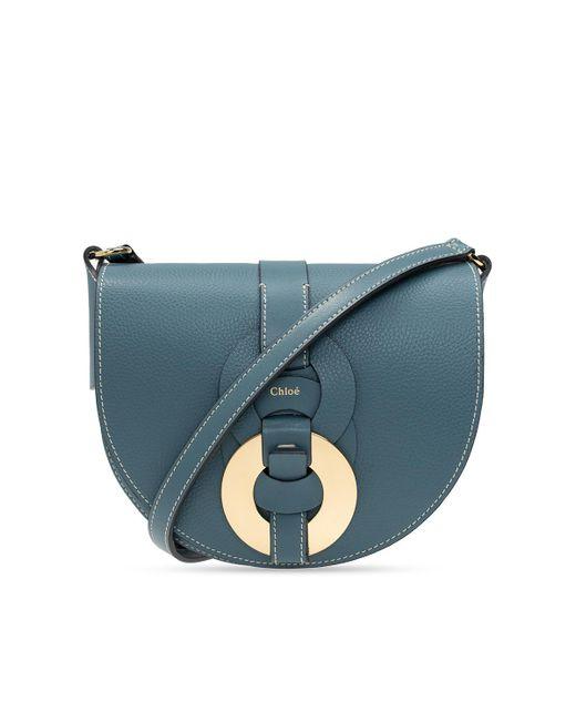 Chloé 'darryl' Shoulder Bag Blue