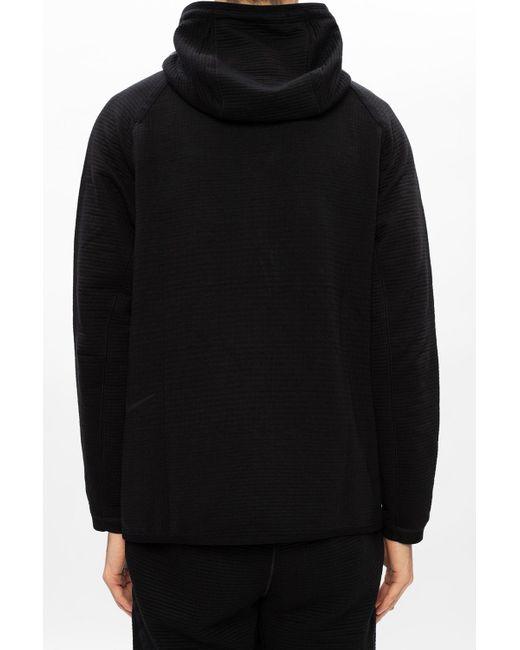 Nike Black Hoodie With Zip for men