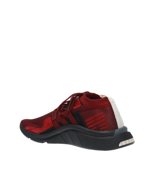 2ce4f0d1d13d ... Lyst Adidas Originals - Red  eqt Support Mid Adv  Sock Sneakers for Men  ...