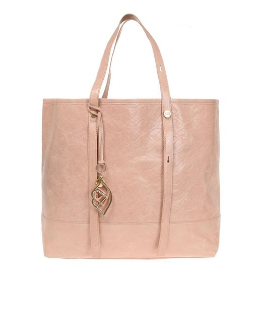See By Chloé - Pink Leather Shopper Bag - Lyst
