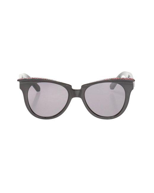 Philipp Plein Black Branded Sunglasses