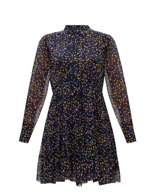 Zadig & Voltaire Blue Printed Dress