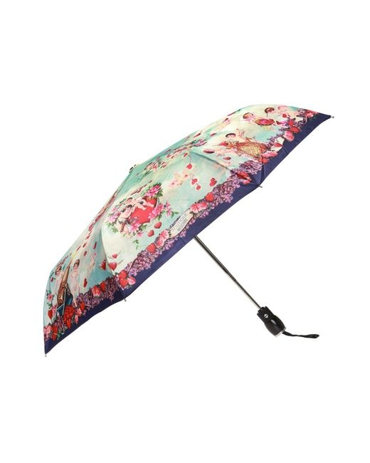 Moschino - Multicolor Patterned Umbrella - Lyst