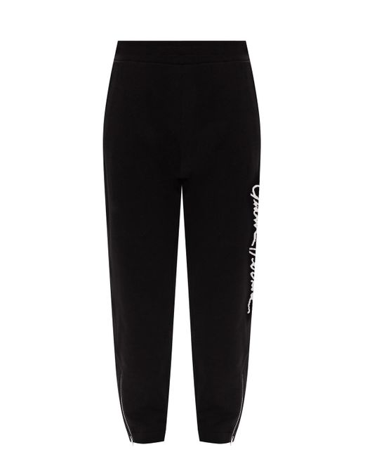 Versace Logo Sweatpants Black for men