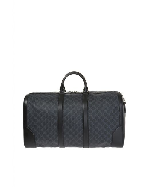08b577149273 ... Gucci - Gray Holdall for Men - Lyst ...