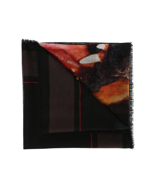 Givenchy - Blue Printed Scarf - Lyst