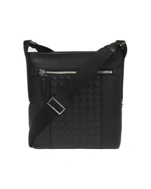 Ferragamo - Black  firenze Gamm  Shoulder Bag for Men - Lyst ... 43ac8b12b4cb0