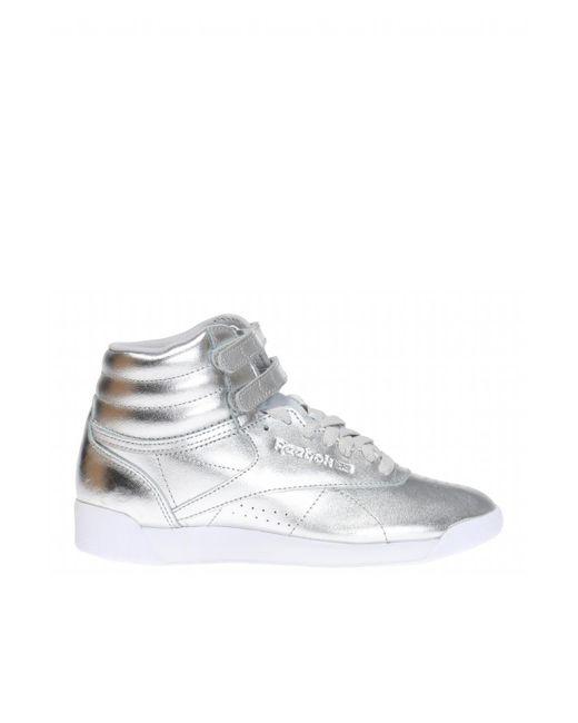 6de02dc0b61 1 reviews  Reebok - freestyle Hi Metallic Sneakers .