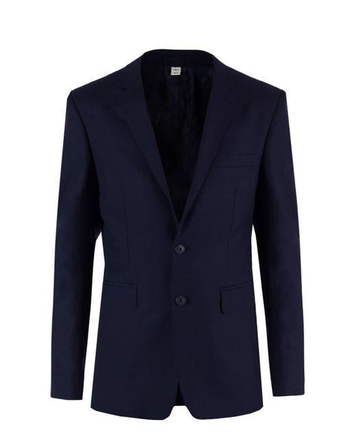 Burberry Blue Single-vented Suit for men