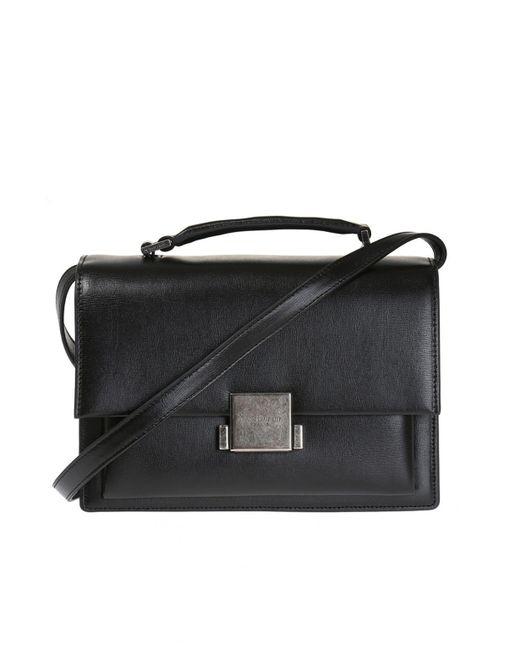 Saint Laurent - Black 'bellechasse' Shoulder Bag - Lyst