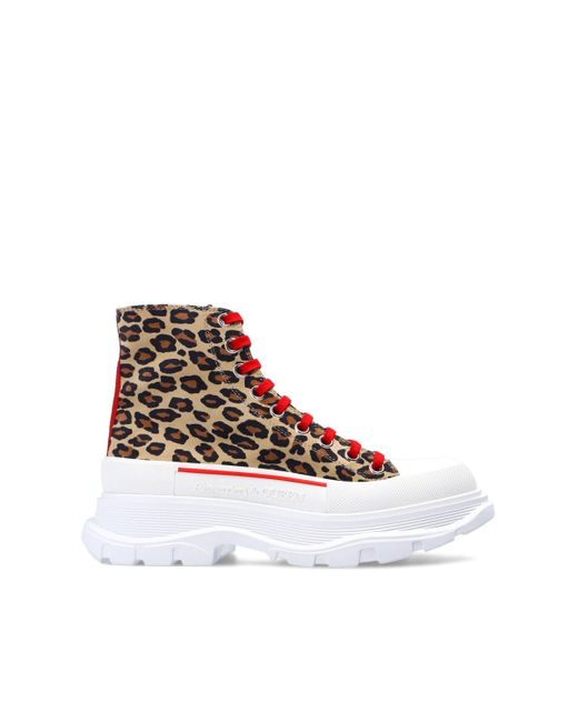 Alexander McQueen 'tread Slick' Sneakers Brown
