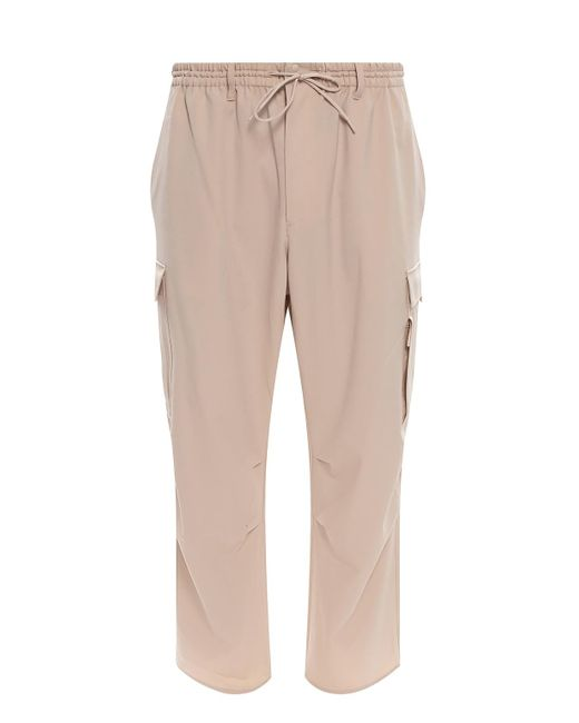 Y-3 Natural Trousers With Pockets Beige for men