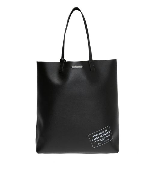 1bdd6d2c3e43 Saint Laurent - Black Shopper Bag for Men - Lyst ...