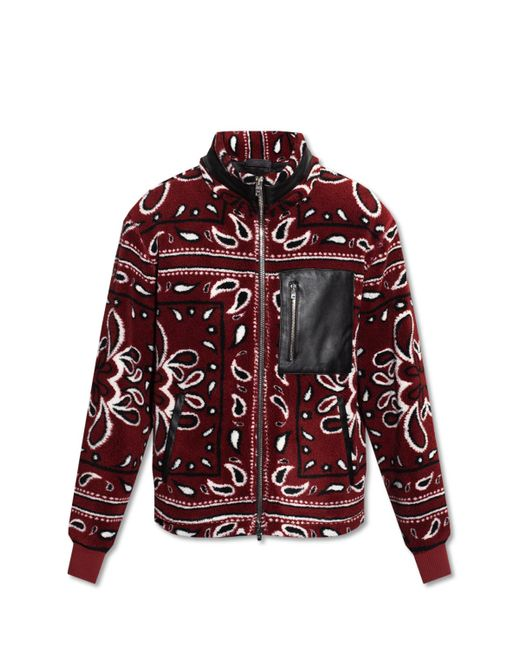 Amiri Multicolor Jacket With Standing Collar for men