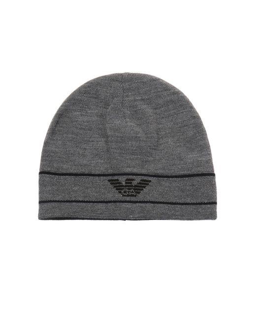 c3d111833 Men's Gray Logo-embroidered Hat