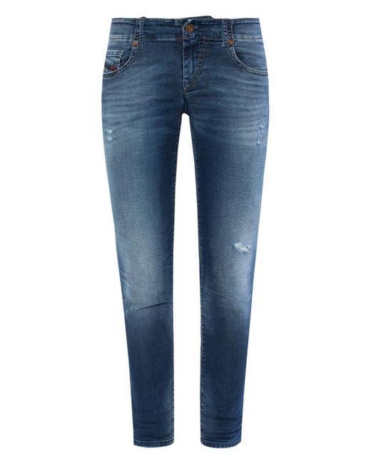 DIESEL - Blue 'grupee-s-ne' Jeans - Lyst