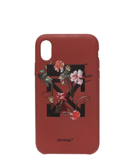 Off-White c/o Virgil Abloh Red Iphone X Case