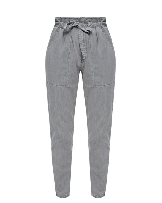 Étoile Isabel Marant Gray Washed-out Jeans Grey