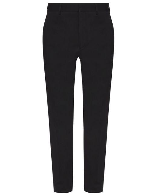 Fendi Black Straight Leg Trousers for men