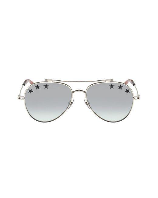 852153b4e5635 Givenchy - Metallic Star Motif Sunglasses for Men - Lyst ...