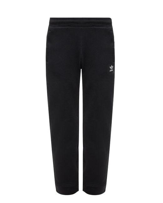 Adidas Originals Black Sweatpants With Logo for men