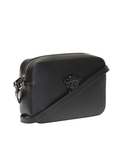 cb474b65 Versace Shoulder Bag in Black - Lyst