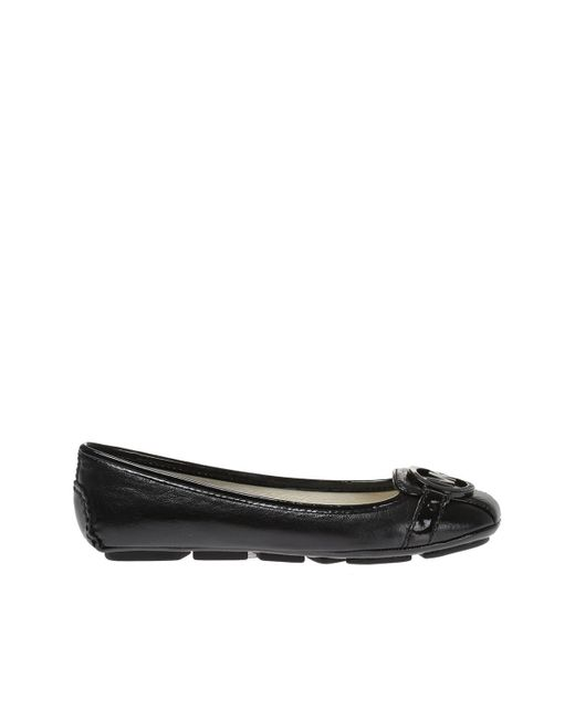 06ba359de78c Michael Kors - Black  fulton  Leather Moccasins - Lyst ...