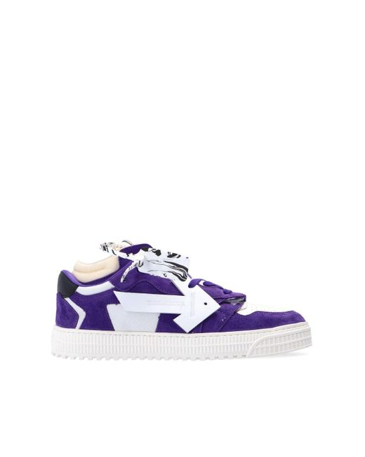 Off-White c/o Virgil Abloh 'off Court Low' Sneakers Purple for men