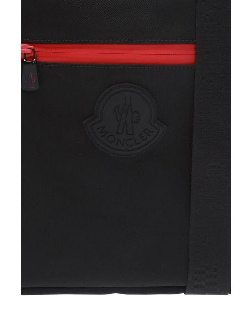 c4beea258b2 Lyst - Moncler  pascal  Shoulder Bag in Black for Men - Save 12%