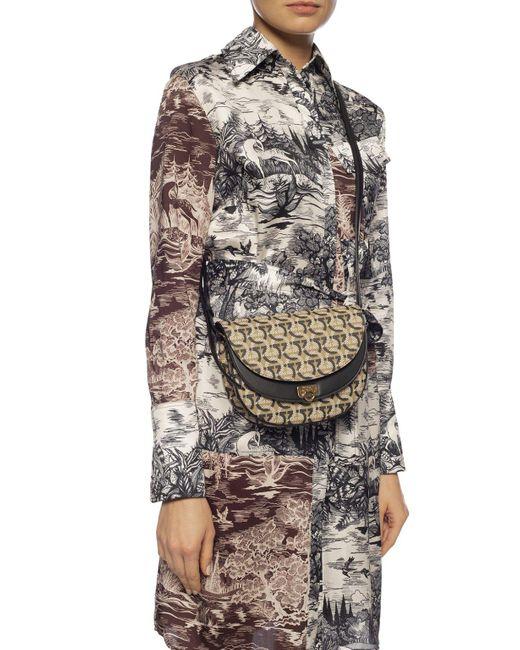 Ferragamo Multicolor Gancini Crossbody Bag